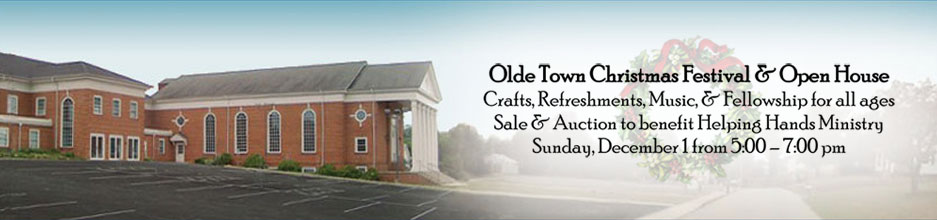 Olde Town Christmas Festival & Open House
